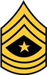 Army - Sergeant Major - Rank