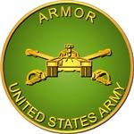 Army - Armor Branch - Plaque