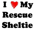 I Love My Rescue Sheltie