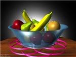 3D Bowl of Fruit