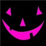 Pink Punkin Face Halloween
