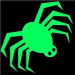 Groovy Green Spider