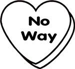 No Way Conversational Heart Gear