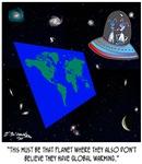 Flat Earth & No Global Warming