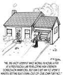 Scientist Cartoon 1936