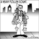 A Heavy Pollen Count