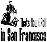 Vespa Scooter San Francisco