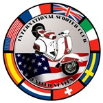 USA VESPA SCOOTER FLAG T-SHIRTS & GIFTS