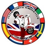 UK VESPA SCOOTER FLAG T-SHIRTS & GIFTS