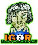 Igor 2 Play, Funny Billiards Halloween T-shirts