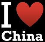 I Love China Dark Tee
