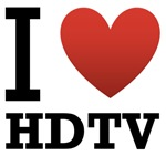 I Love HDTV Light Tee