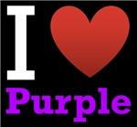 I Love Purple Dark