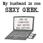 My Husband is One Sexy Geek