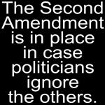 Politicians Ignore.