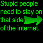 stupid internet.