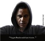 Obama-Trayvon (White Background)