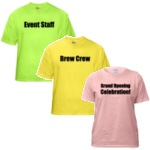 Colored Event Shirts