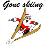 Santa's Gone Skiing