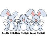 No Evil Bunnies