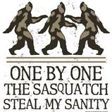One By One The Sasquatch