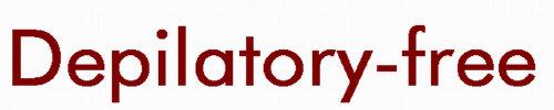 Depilatory-free
