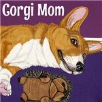 Corgi Mom