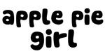Apple Pie Girl