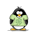 3 Leaf Clover Penguin