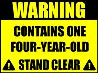 Warning four