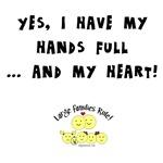 Full hands, full heart