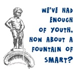 Enough youth, more smart