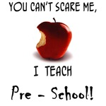 No scare pre-school teacher