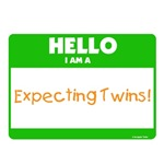 Hello Expecting Twins Green