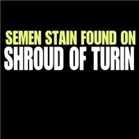 Semen stain on Shroud