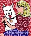 The White German Sheperd Dog