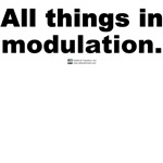 All things in modulation