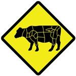 Caution Beef Crossing