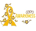 Awareness 6 COPD Tees, Gifts, and Apparel