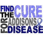 Find the Cure Addison's Disease T-Shirts
