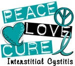 Peace Love Cure 1 Interstitial Cystitis Shirts and
