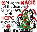 Christmas Penguins MDS Gifts and Merchandise