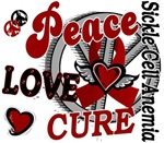 Peace Love Cure Sickle Cell Anemia Gifts