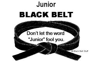 Junior Black Belt