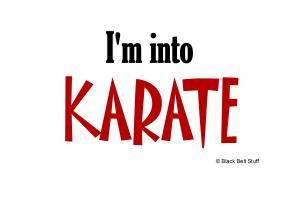 I'm Into Karate