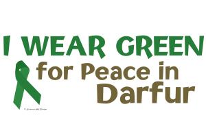 I Wear Green (Peace In Darfur)