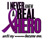 Never Knew A Hero 2 Cystic Fibrosis Shirts & Gifts