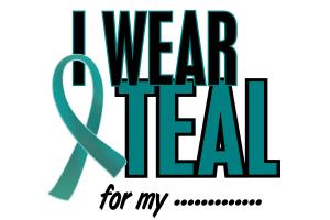 I Wear Teal.....10