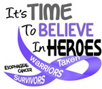 Time To Believe Esophageal Cancer Gifts & Apparel