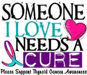 Needs A Cure THYROID CANCER Tees & Gifts